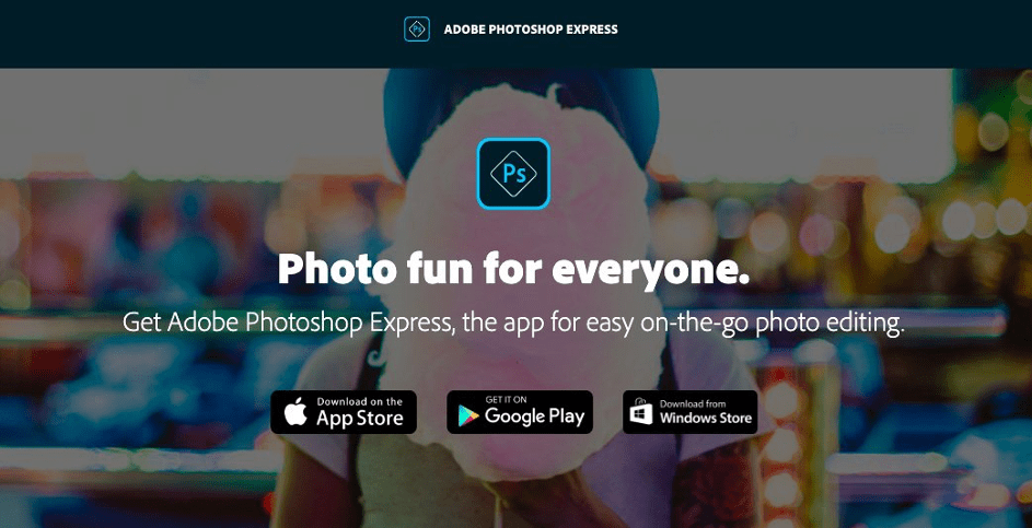 application instagram photoshop mobile