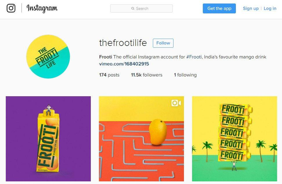 thefrootilife compte instagram